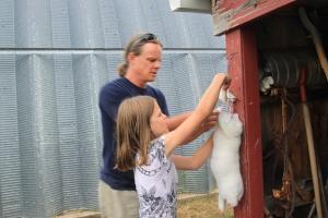 So proud of my farm girl!