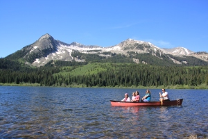 Lost Lake-near Crested Butte/Kebler Pass. Breathtaking to wake up to this everyday!!