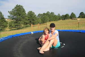 More trampoline fun! Thanks, Dawsons!!